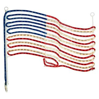 Hanging Rope Light Flag
