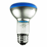 50 Watt - Blue - R20 Reflector - 120 Volt - 2,000 Life Hours - Bulbrite 223050