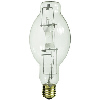 400 Watt - BT37 - Metal Halide - Unprotected Arc Tube - 4000K - ANSI M59/S - Universal Burn - M400/U - Sylvania 64490 BT37 Metal Halide