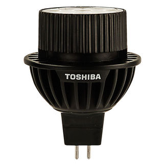 Toshiba 9MR16/27FFL-UP - 9 Watt - Dimmable LED - MR16 - 2700K Warm White - Flood - 990 Candlepower - 35 Watt Equal
