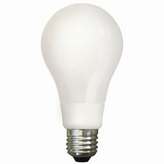 6W LED Light Bulb - A19 - 40W Equal - Stark White