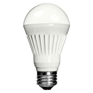 Toshiba 8A19/40F-UP - 8.4 Watt - Dimmable LED - A19 - 4000K Cool White - 500 Lumens - 40 Watt Equal - 120 Volt