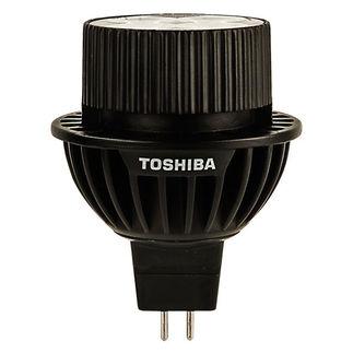 9 Watt - Dimmable LED - MR16 - 3000K Warm White - Flood - 1,040 Candlepower - 35 Watt Equal - Toshiba 9MR16/30FFL-UP