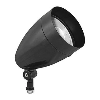 RAB HBLED13DCB - 13 Watt - LED - Landscape Lighting - Flood Light Fixture - 12/24 VDC - Black Finish
