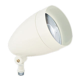 RAB HBLED13DCW - 13 Watt - LED - Landscape Lighting - Flood Light Fixture - 12/24 VDC - White Finish