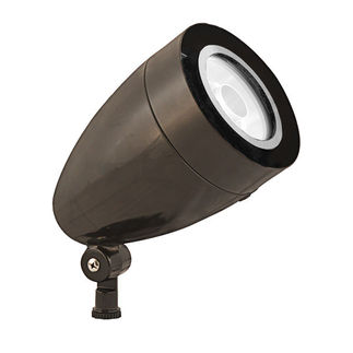 RAB HSLED13A - 13 Watt - LED - Landscape Lighting - Spot Light Fixture - 120/208/240/277 Volt - Bronze Finish