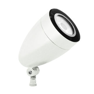 RAB HSLED13W - 13 Watt - LED - Landscape Lighting - Spot Light Fixture - 120/208/240/277 Volt - White Finish