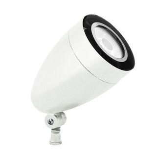 RAB HSLED13YW - 13 Watt - LED - Landscape Lighting - Spot Light Fixture - 120/208/240/277 Volt - White Finish