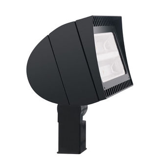 RAB FXLED78SFN - 78 Watt - LED - Landscape Lighting - Flood Light Fixture - 120/208/240/277 Volt - Bronze Finish