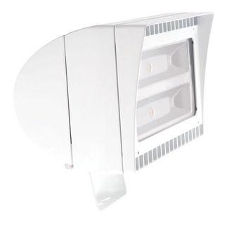 RAB FXLED78TYW - 78 Watt - LED - Landscape Lighting - Flood Light Fixture - 120/208/240/277 Volt - White Finish