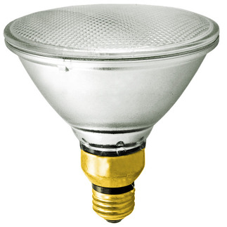 120 Watt - PAR38 - Wide Flood - 120 Volt - Halogen Light Bulb - Sylvania 14594