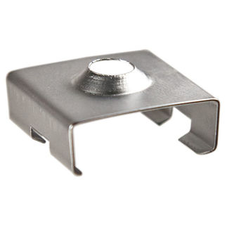 Klus 1399 - Zinc Bracket for Mounting Channel - 45 - ALU LED Profile - For LED Tape Light