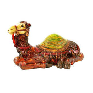 Illuminated - Christmas Nativity Camel - 18 in. - Barcana 57-1083-C