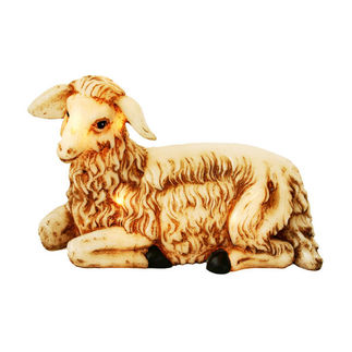 Illuminated - Christmas Nativity Lamb - 10 in. - Barcana 57-1083-L