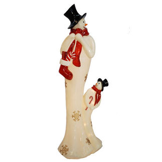 Illuminated - Life Impressions - Christmas Snowman Decoration - 40.5 in.