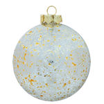 Mercury Ball Christmas Ornament - Shatterproof - 2.75 in. - Gold - 4 Pack