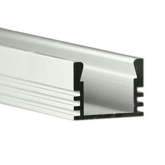Klus B1718ANODA - 39.4 in. Anodized Aluminum Mounting Channel - PDS4 - ALU LED Profile - For LED Tape Light