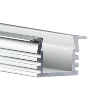 Klus B3776L - 78.75 in. Anodized Aluminum Mounting Channel - PDS4 - K LED Profile - For LED Tape Light