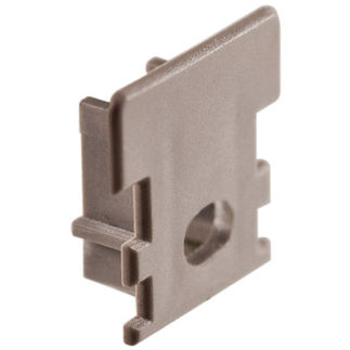 Klus 1445 - End Cap with Hole for Mounting Channel - HR - Line LED Profile - For LED Tape Light