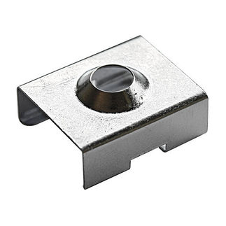 Klus 1072 - Zinc Bracket for Mounting Channel - PDS4/Micro - ALU LED Profile - For LED Tape Light