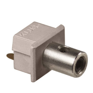 Klus 1391 - Conductive End Cap for Mounting Channel - PDS4 - ALU LED Profile - For LED Tape Light
