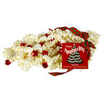 9 ft. Jingle Berry Popcorn Garland - White with Red Bells - Barcana 540-1005