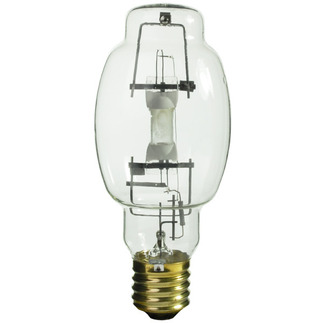 320 Watt - BT28 - Pulse Start - Metal Halide - Unprotected Arc Tube - 4300K - Mogul Base - ANSI M154/E or M132/E - Base Up Burn - MS320/PS/BU-HOR - Sylvania 64507