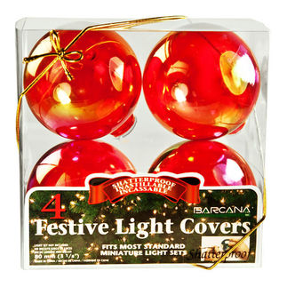 Red Festive Light Cover