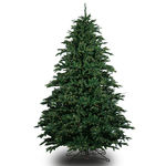 4.5 ft. Artificial Christmas Tree - Pre-Lit Alaskan Deluxe Fir- Realistic PE/PVC Needles - Barcana