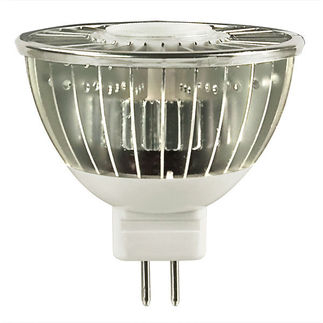 7 Watt - LED - MR16 - 42 Watt Equal - 3000K - PLT LED-MR16-7-12