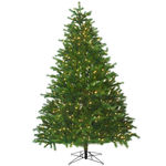 9 ft. Artificial Christmas Tree - Pre-Lit Conrad Fir - Realistic PE/PVC Needles - Barcana