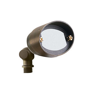 4 Watt - LED - E.T. Shrub Landscape Light - Solid Brass - Bronze Finish - 20 Watt Halogen Equal - 3000K- 12 Volt - PLT FL-113B-LED-T3-4
