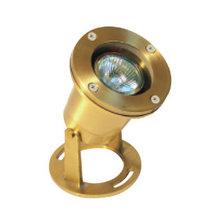 3.5 Watt - LED - Neptune Underwater Light - Solid Brass Finish - 3000K - 12 Volt - Greenscape H20-502B-LED-MR16-3