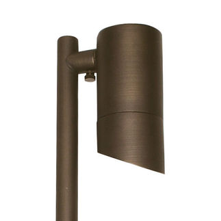 7 Watt - LED - Architect Path Light - Solid Brass - Bronze Finish - 20 Watt Halogen Equal - 3000K - 12 Volt - PLT PS-502B-LED-MR16-7