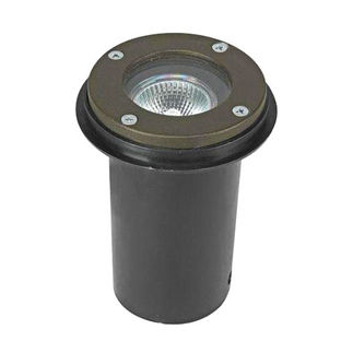 4.5 Watt - LED - Mini In-Ground Accent Light - Solid Brass - Bronze Finish - 20 watt Equal - 3000K - 12 Volt - Greenscape IG-00-50B-LED-MR16-7