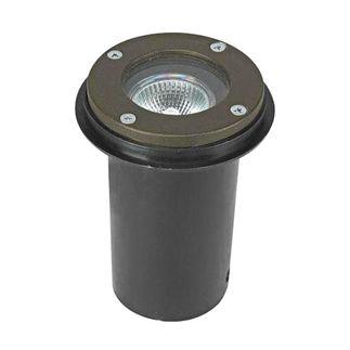 4.5 Watt - LED - Mini In-Ground Accent Light - Solid Brass - Bronze Finish - 20 watt Equal - 3000K - 12 Volt - Greenscape IG-00-50B-LED-MR16-7