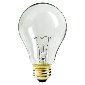 Sylvania 12817 - 116 Watt - Traffic Signal - A21 - Clear - 8,000 Life Hours - 1,260 Lumens - 130 Volt