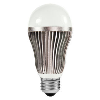 Kobi Cool 40 - 8 Watt - Dimmable LED - A19 - 5000K Stark White - 450 Lumens - 40 Watt Equal - 120 Volt