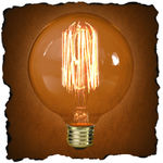 G30 Vintage Antique Light Bulb | Victorian Style | 40 Watt