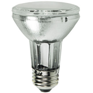 20 Watt - PAR20 Spot - Metalarc - Pulse Start - Metal Halide - Protected Arc Tube - 3000K - Medium Base - ANSI C156/O - Universal Burn - MCP20PAR20/U/830/SP10/ECO