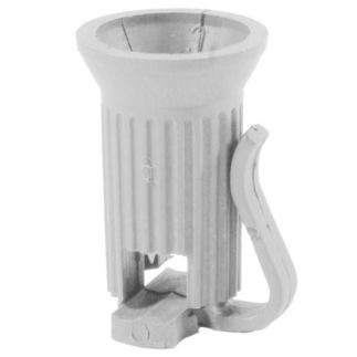 White - C9 Christmas Light Pin Socket - SPT-1
