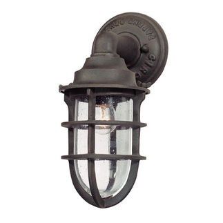 Troy B1865NR - Outdoor Sconce - Nautical Rust