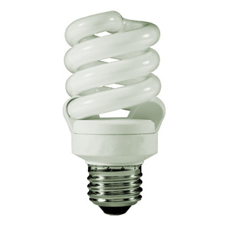 13 Watt - CFL - 60 W Equal - 3500K Halogen White - Min. Start Temp. -20 Deg. F - 82 CRI - 71 Lumens per Watt - 15 Month Warranty - TCP 48913-35 Screw In CFL