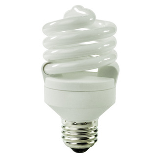 18 Watt - CFL - 75 W Equal - 4100K Cool White - Min. Start Temp. -20 Deg. F - 82 CRI - 72 Lumens per Watt - 15 Month Warranty - TCP 48918-41 Screw In CFL