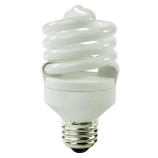 18 Watt - CFL - 75 W Equal - 4100K Cool White - Min. Start Temp. -20 Deg. F - 82 CRI - 72 Lumens per Watt - 15 Month Warranty - TCP 48918-41 Screw In CFL