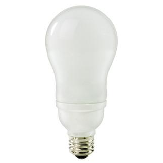 19 Watt - A-Shape CFL - 60 W Equal - 5100K Full Spectrum - Min. Start Temp. -20 Deg. F - 82 CRI - 47 Lumens per Watt - 15 Month Warranty - TCP 11319-51 screw in cfl