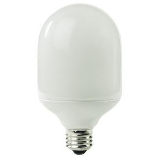 19 Watt - Bullet Shape CFL - 75 W Equal - 5100K Full Spectrum - Min. Start Temp. -20 Deg. F - 84 CRI - 50 Lumens per Watt - 15 Month Warranty - TCP 1T2419-51 - screw in CFL Bullet