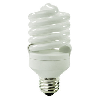 23 Watt - CFL - 100 W Equal - 5000K Full Spectrum - Min. Start Temp. -20 Deg. F - 82 CRI - 72 Lumens per Watt - 15 Month Warranty - TCP 48923-50k Screw In CFL