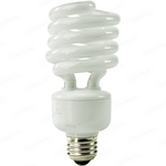 27 Watt - 100 W Equal - Warm White 2700K - CFL Light Bulb - TCP 28927H277 Screw In CFL