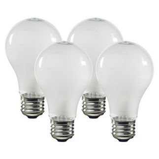 Sylvania 11332 | 100 Watt A19 Bulbs | 1,500 Life Hours | Frosteded